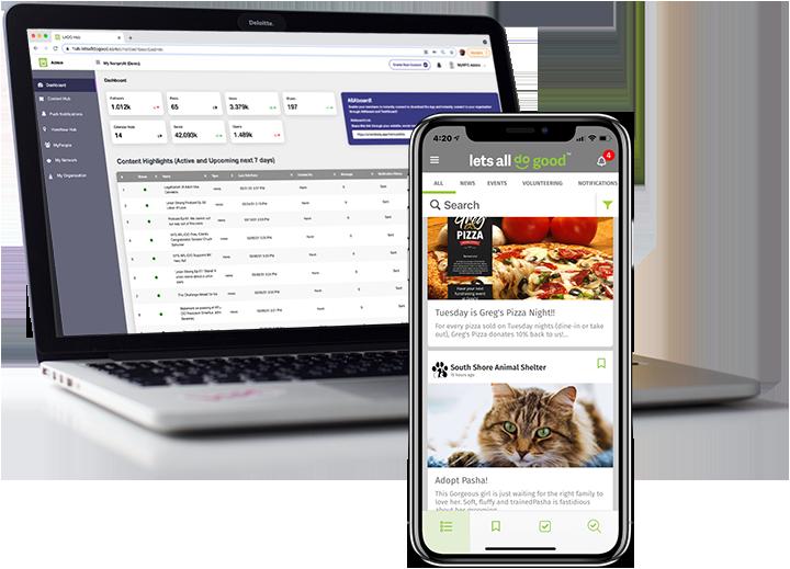 LADG-app-laptop-admin-screen-and-phone